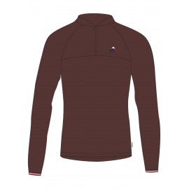 MALOJA HerminaM. Long Sleeve Multisport Jersey choco