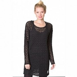 NIKITA CORTADO SWEATER DRESS JET BLACK
