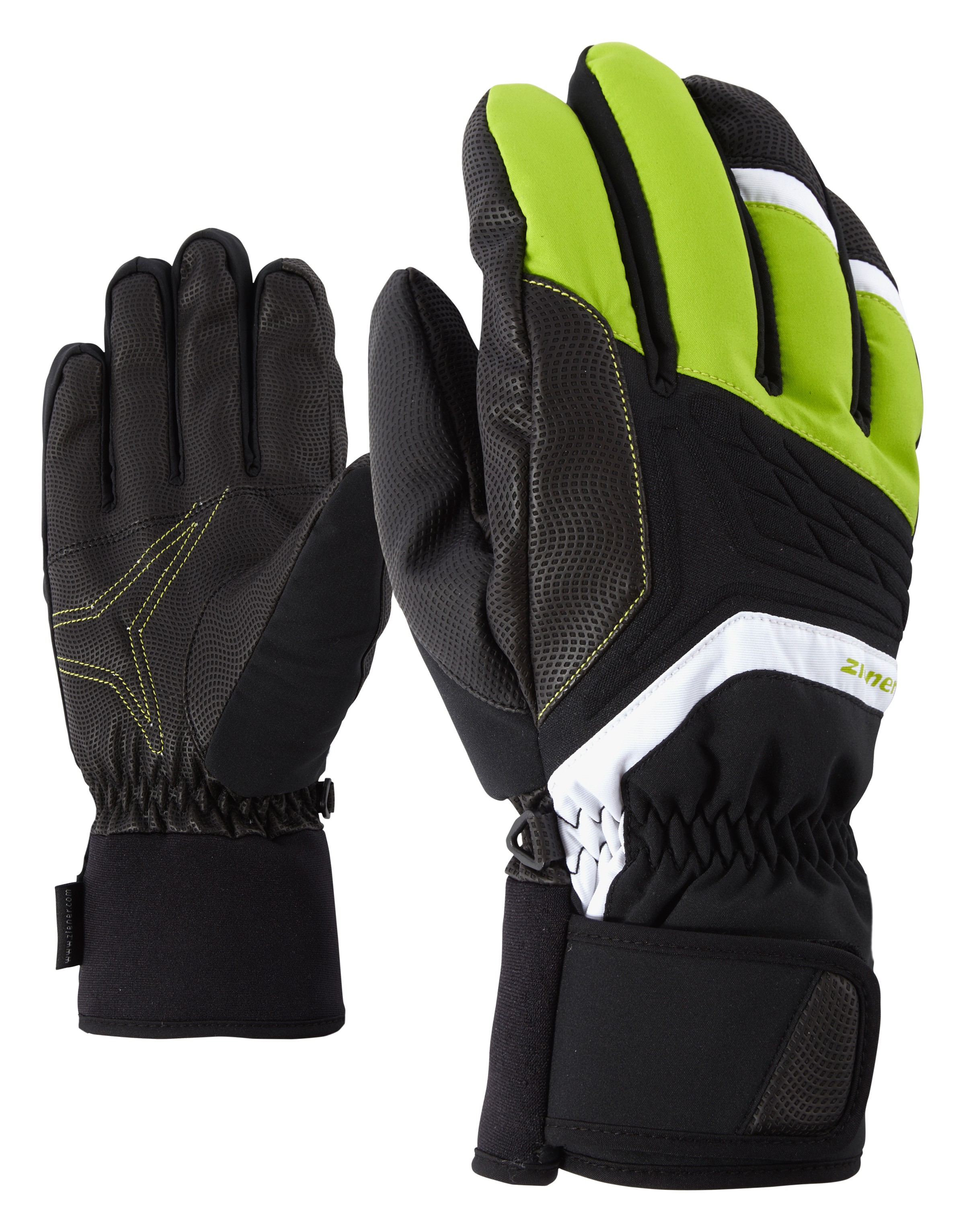 Ziener Galvin As Lime Ski Green rGlove Alpine iZwPTOkXu