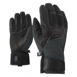 Ziener GANZENBERG AS(R) AW glove ski alpine grey iron tec