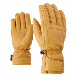Ziener GALIOS AS(R) AW glove ski alpine tan