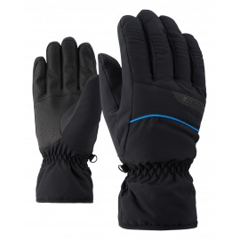 Ziener GALGAR glove ski alpine black.persian blue