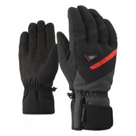 Ziener GARY AS(R) glove ski alpine black/graphite