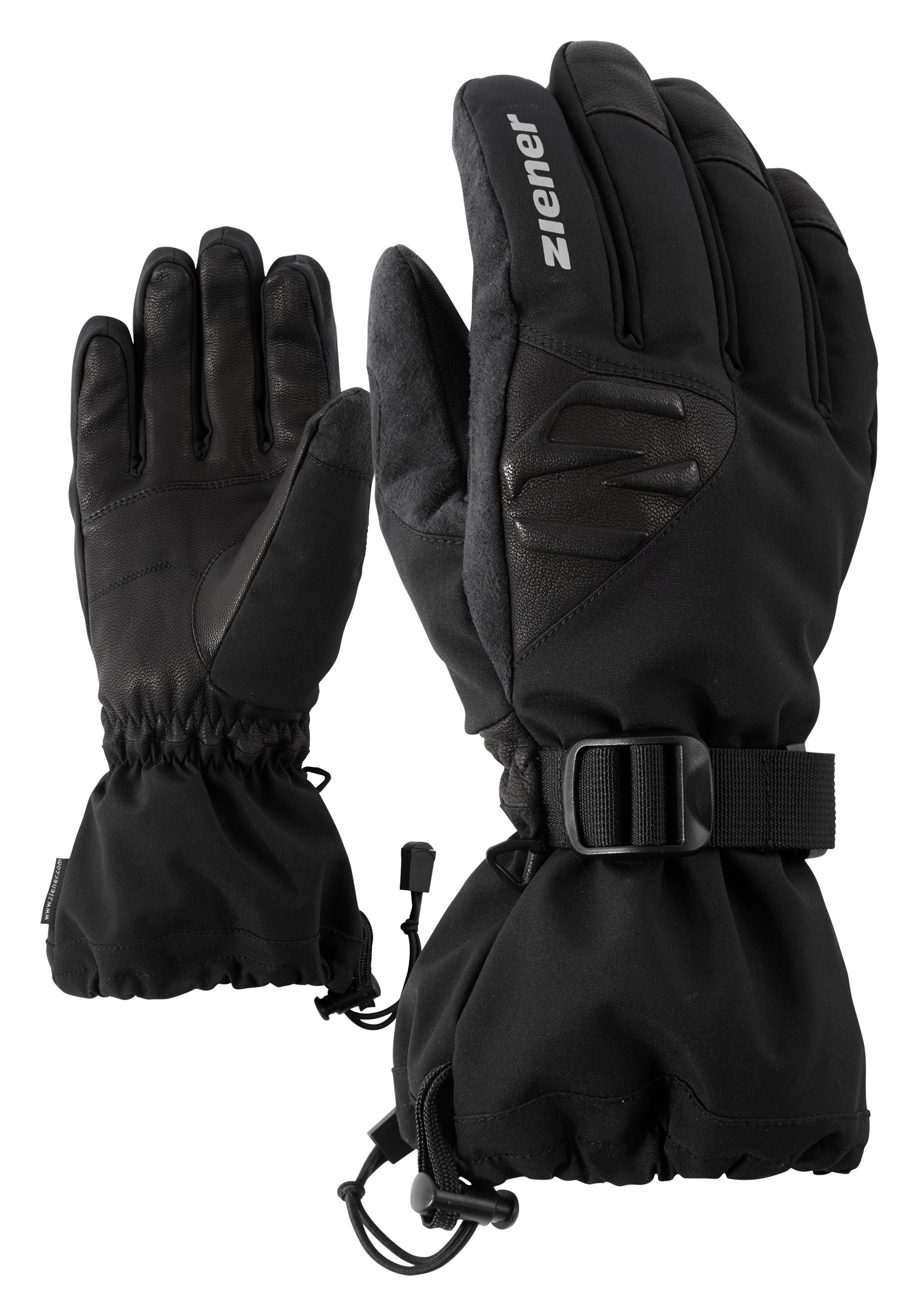 rAw Ski Alpine Ziener Gofried As Glove Black 2H9IDWE