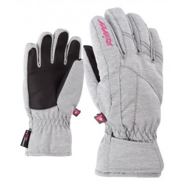 Ziener LATI AS(R) PR GIRLS glove junior light melange