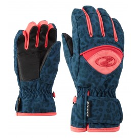 Ziener LARGO GTX(R) glove junior blue jaguar print