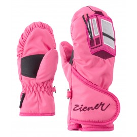 Ziener LAFAUNA AS(R) MINIS glove fresh pink