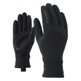 Ziener IDIWOOL TOUCH glove multisport black