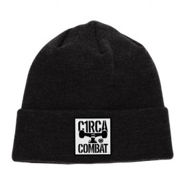 Circa Combat Patch Beanie Black
