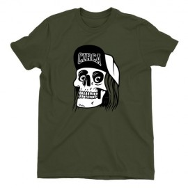 Circa Skull Cap Tee Military Green
