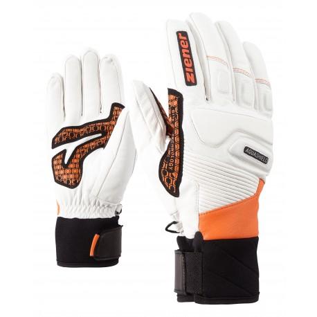 Ziener GISOR AS(R) glove ski alpine poison orange