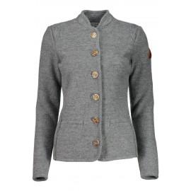 MALOJA AllegriaM. Alpine Wool Jacket Grey
