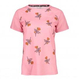 MALOJA OrtensiaM. Multi 1/2 Short Sleeve Multisport Jersey cherry blossom