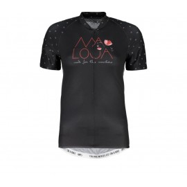 MALOJA OrtensiaM.1/2 Short Sleeve Bike Jersey moonless