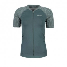 MALOJA CarlaM. Short Sleeve Bike Jersey pinetree