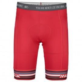 MALOJA MichelM. Pants 1/2 Chamois Bike Shorts red