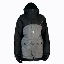 NITRO PERFECT KISS JACKET GREY