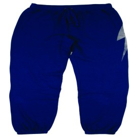 L.BOLT CITY FLEECE PANTS BLUE