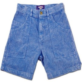 L.BOLT RORY 16'' CORD SHORT  MINERAL WASH Blue Tint