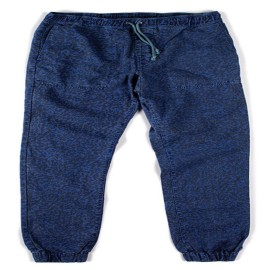L.BOLT Printed Hemp Cotton Shaka Pant Ensign Blue