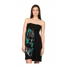 NIKITA BANDFIRE DRESS BLACK