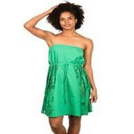 NIKITA CLAM DRESS GREEN