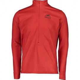 MALOJA PrestonM.Shirt red poppy