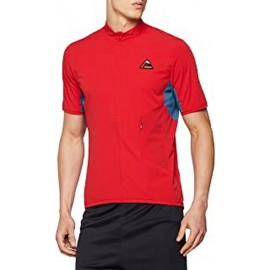 MALOJA PadrotM. Short Sleeve Multisport Jersey red poppy
