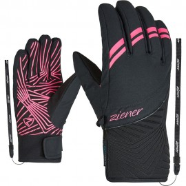 Ziener Kiwa As(R) lady glove black