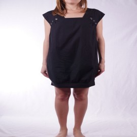 NIKITA CRYSTAL DRESS BLACK