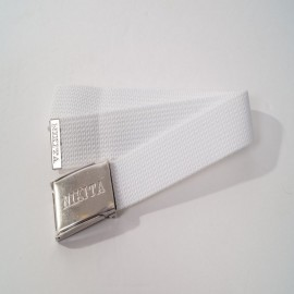 NIKITA BELT WHITE/SILVER