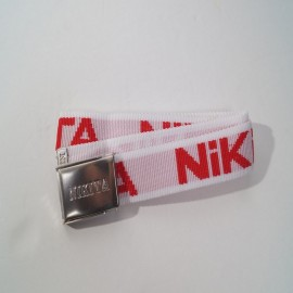 NIKITA BELT WHITE/RED