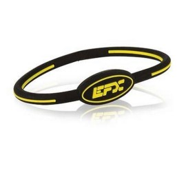 BRACELET EFX SILICONE OVAL BLACK YELLOW