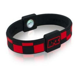 BRACELET EFX SILICONE SPORT RED CHECKED