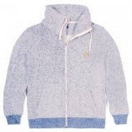 L.BOLT YD ZIP JACKET BLUE