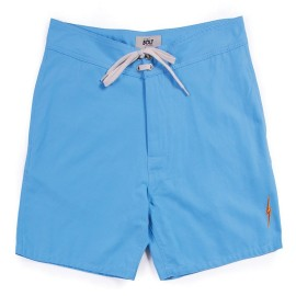 L.BOLT Plain Crane Boardshort Milky Blue