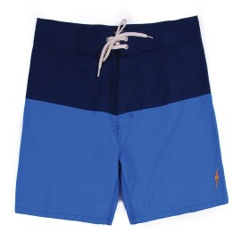 L.BOLT Surfari Boardshort Directoire Blue