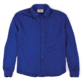 L.BOLT Double Weave LS Shirt Dark Indigo