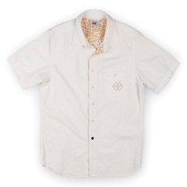 L.BOLT Hemp Cotton SL Shirt EGRET