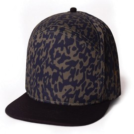 L.BOLT Hi 5 Snap Back Cap DEEP GRASS GREEN
