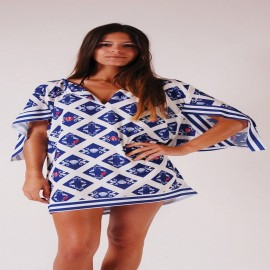 L.BOLT Blue Ocean Tunic SURF THE WEB